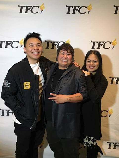 "AJ Rafael, Winner of Food Network's ""Chopped"" Chef Charleen Caabay, and Billboard Magazine's Top Music Industry Professional Roslynn Cobarrubias"