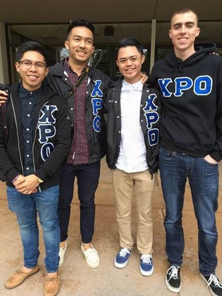 "Chi Rho Omicron or XPO (CSULB) was another partner organization of TFCU. One of the main purposes of XPO is to ""promote the understanding, enrichment, and appreciation of the Pilipino culture, historyand heritage through a Brotherhood/Family environment."""