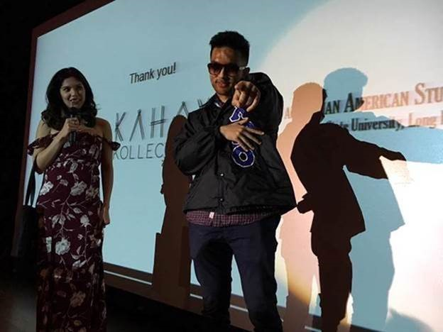 Adobo Nation Co-Host Ginger Conejero hosted #TFCUTalks and kept the crowd engaged throughout the afternoon. Daniel, a brother of Chi Rho Omicron - Cal Poly Pomona – wins a pair of cool bamboo sunglasses from event sponsor Kahoy Kollection.