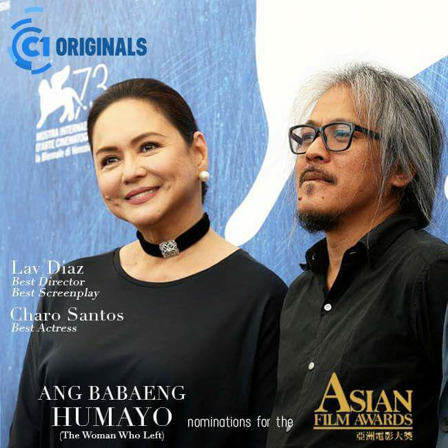 'Ang Babaeng Humayo' gets 3 nods from Asian Film Awards