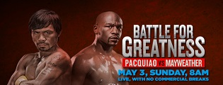 ABS-CBN TVplus offers pay-per-view of Pacquiao-Mayweather Mega Fight