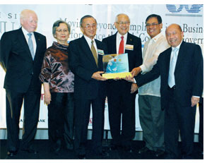 FPHC receives gold award for corporate governance
