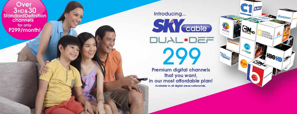 SKY Cable Dual def