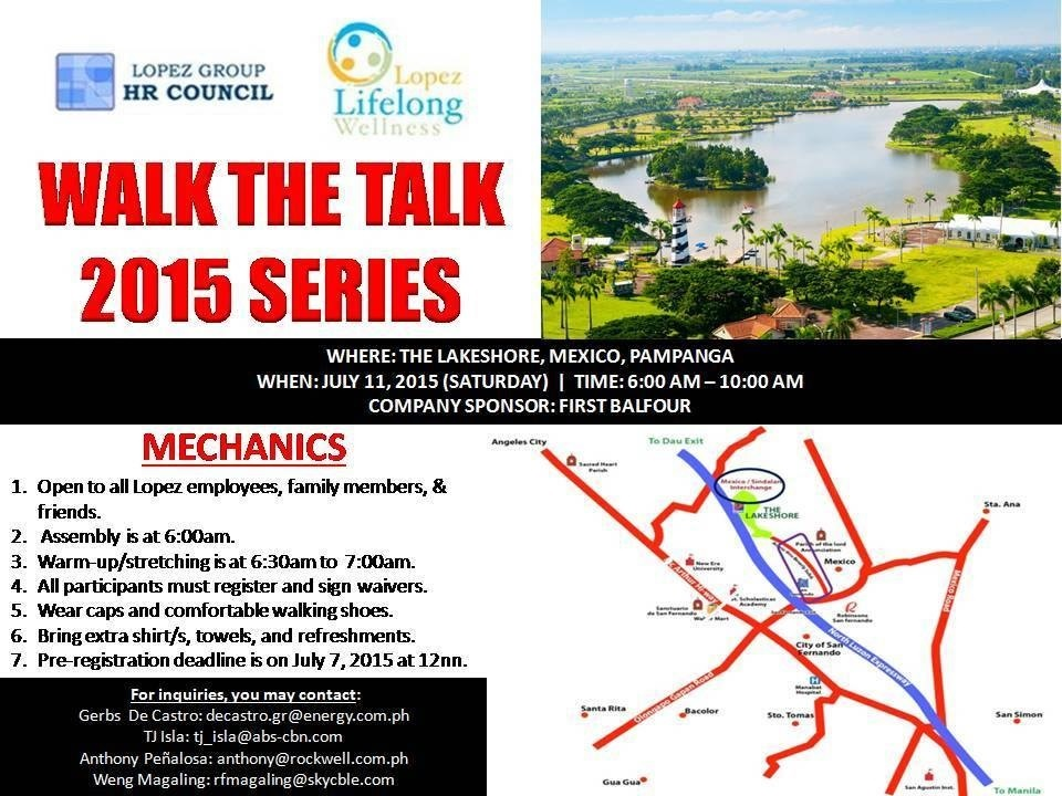 Walk the Talk July 11