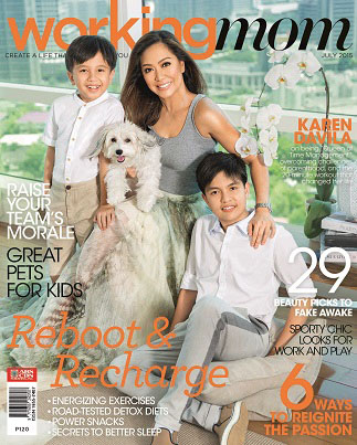Journalist Karen Davila shares her life being a 'Working Mom' this July