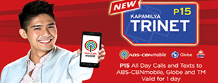 Chika all day with ABS-CBN Mobile's KAPAMILYA trinet promos