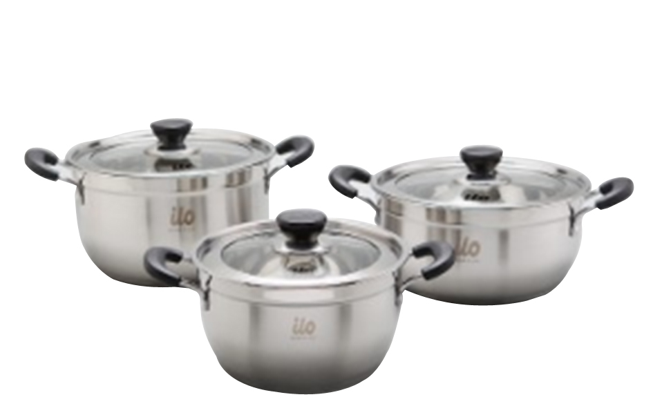 ilo stainless pot