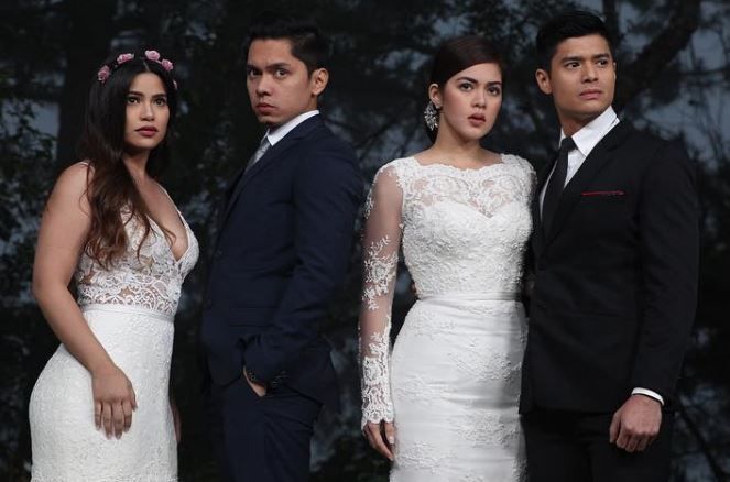 Denise Laurel, Carlo Aquino, Shaina Magdayao and JC DeVera