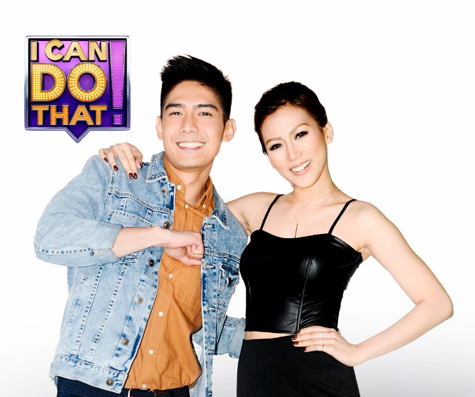I Can Do That hosts Robi Domingo and Alex Gonzaga