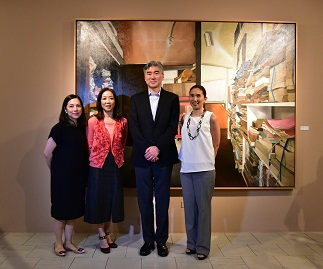 Maita Lichauco Mercedes L. Vargas H.E. US Ambassador to the Philippines Sung Kim and Angela L. Guingona