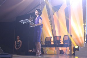 Gina Lopez accepts LAA Special Award