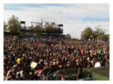 Thousands of Filipinos abroad flocked in Santa Clara California to see the Walang Hanggan stars in the One Kapamilya Go event of TFC