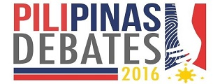Five presidential candidates face off one last time at the PILIPINAS 2016 Presidential Town Hall Debate