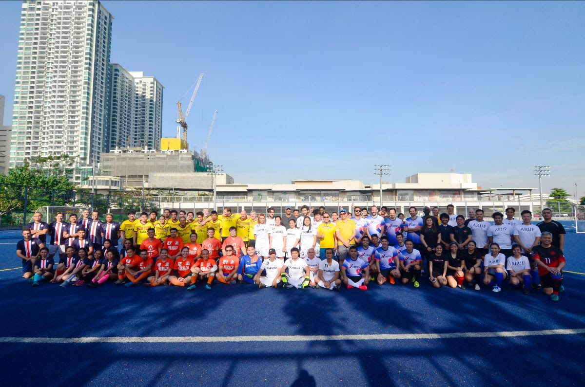 Eight teams joined the football tournament organized by First Balfour as part of its 50th anniversary celebration
