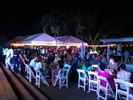 Hundreds of Cebuanos gather at 32 Sanson for the picnic-themed event, Weekend Sunset