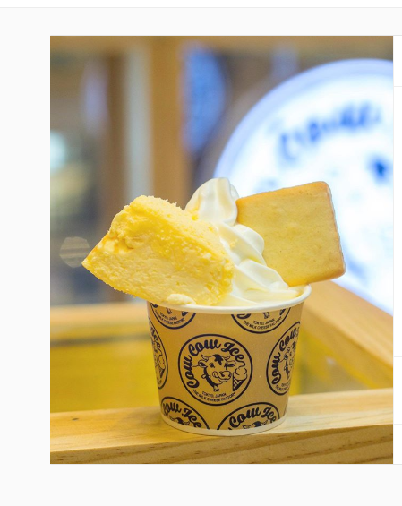 Milk cheesecake and cheese cookie from Tokyo Milk Cheese Factory