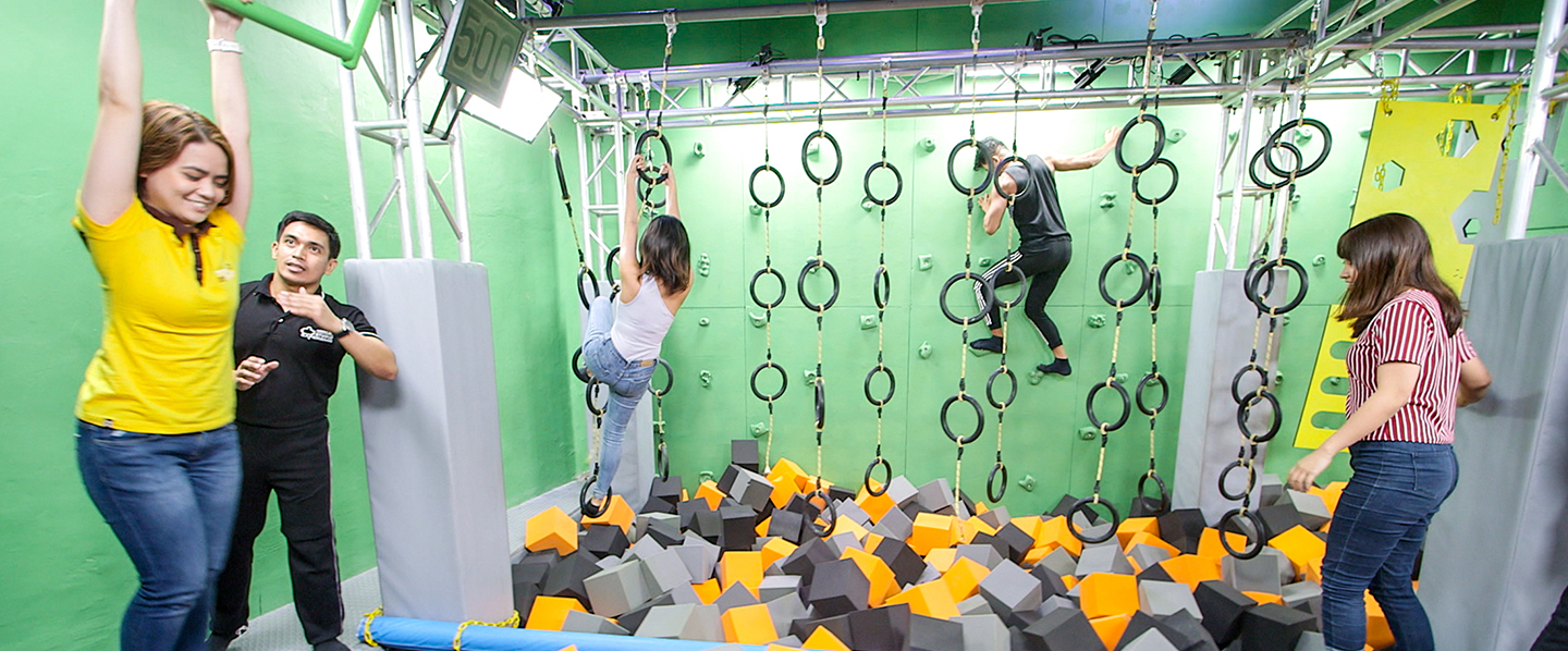 Are you fit enough to become the next biggest action star? Train and push yourself to the limit at the Action Academy!