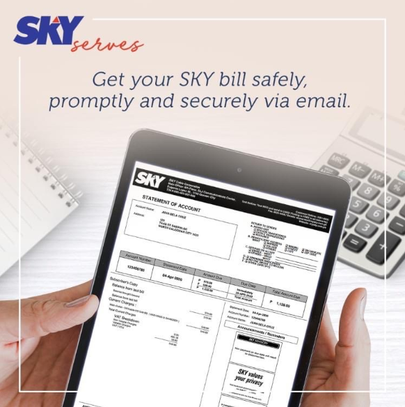 3 reasons to enroll to SKY e-Bill