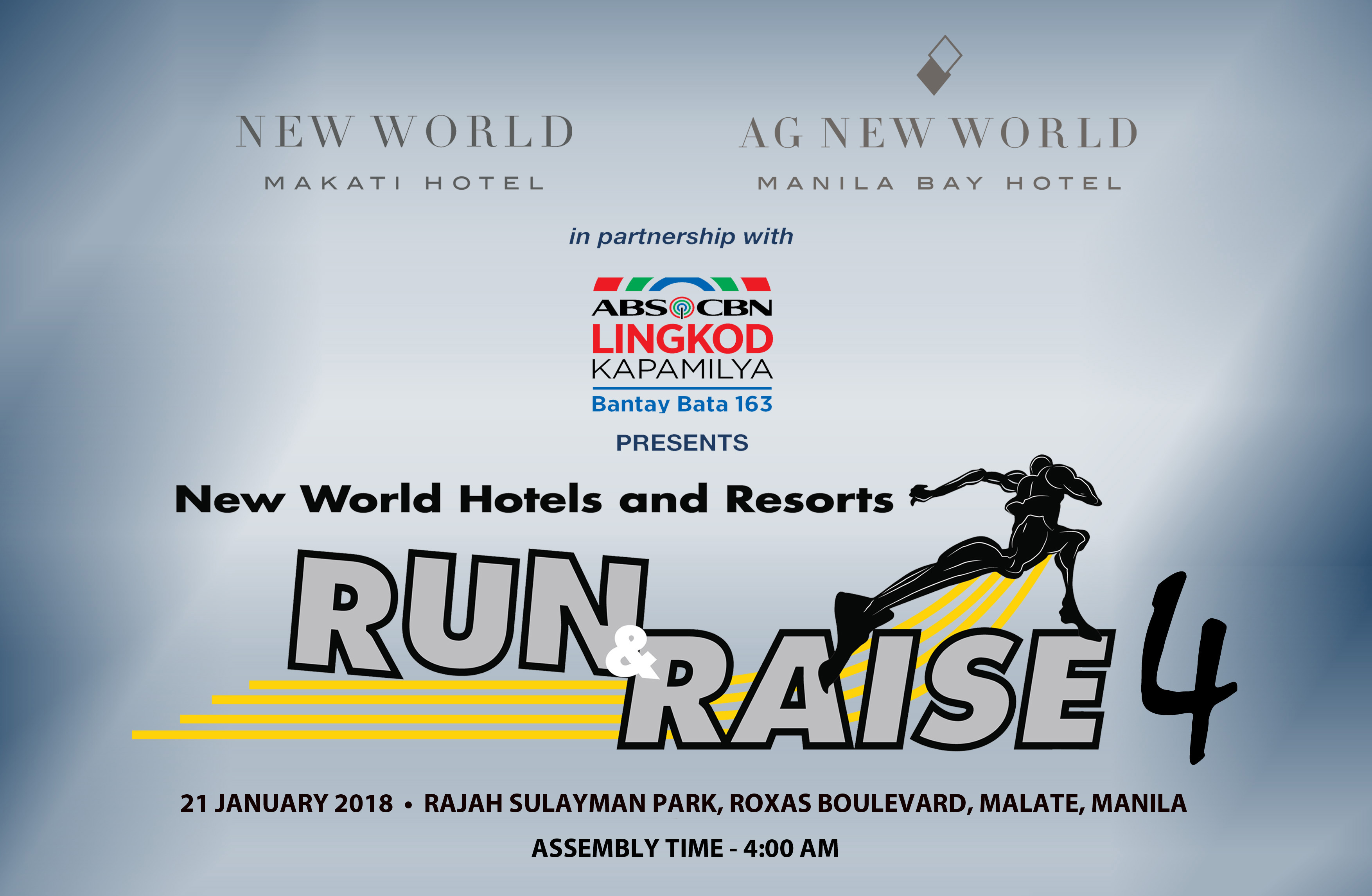 New World Hotels & Resorts Hold Run & Raise 2018