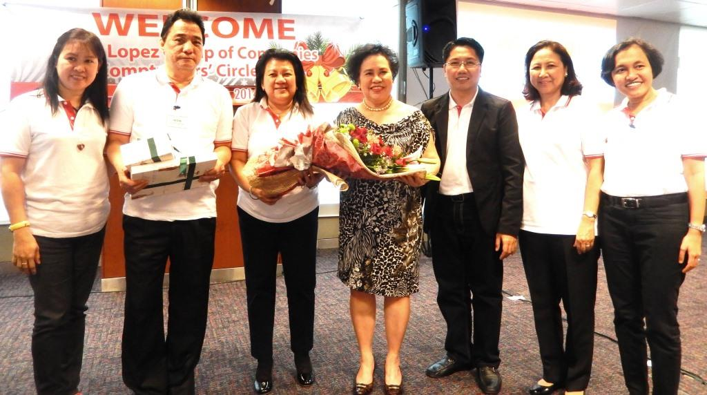 Special guest of honor Sen. Miriam Defensor-Santiago during the 15th anniversary with Catahan and Ramon Pagdagdagan in 2014