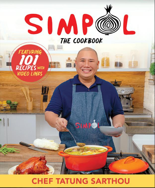 Tatung Sarthou makes cooking easy with 'Simpol: The Cookbook'