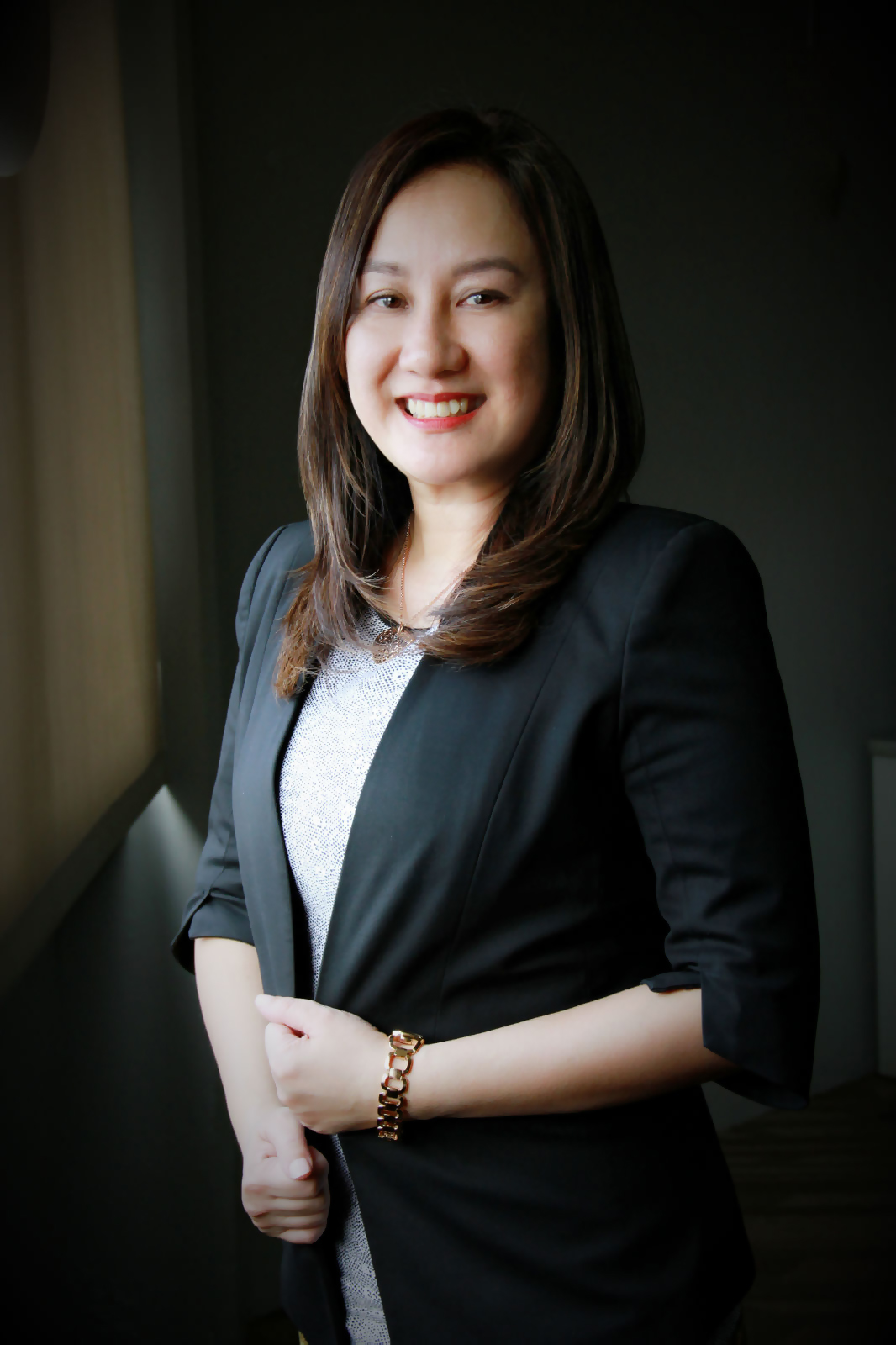 Chinky de Castro-Alcedo head of Digital Terrestrial Television DTT for ABS-CBN Corporation