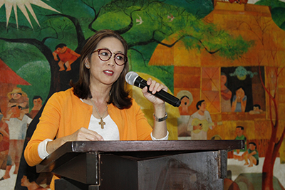 Lopez Museum executive director Cedie Lopez Vargas