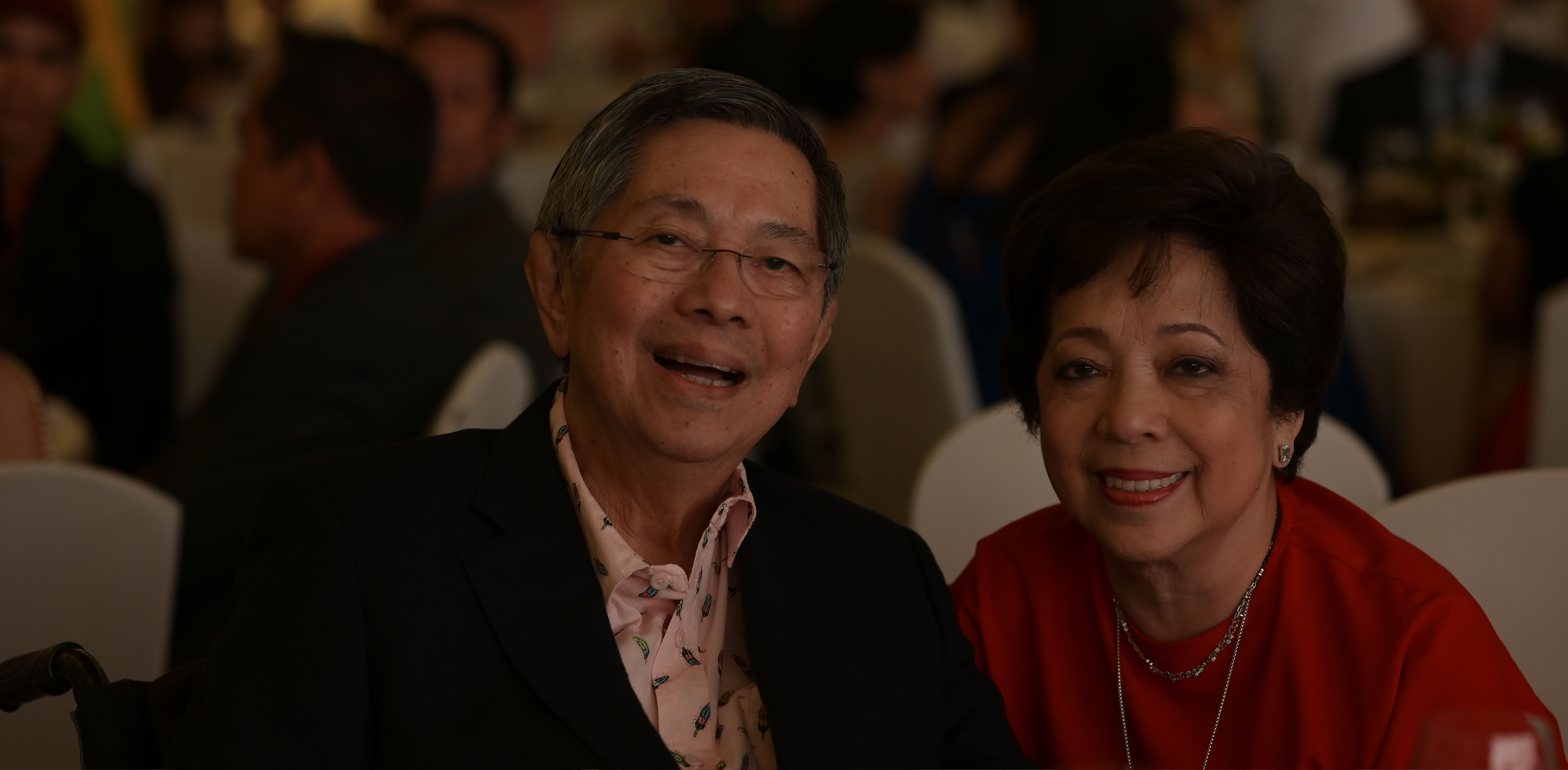 Lopez Holdings Corporation chairman Manuel M. Lopez and wife Maritess