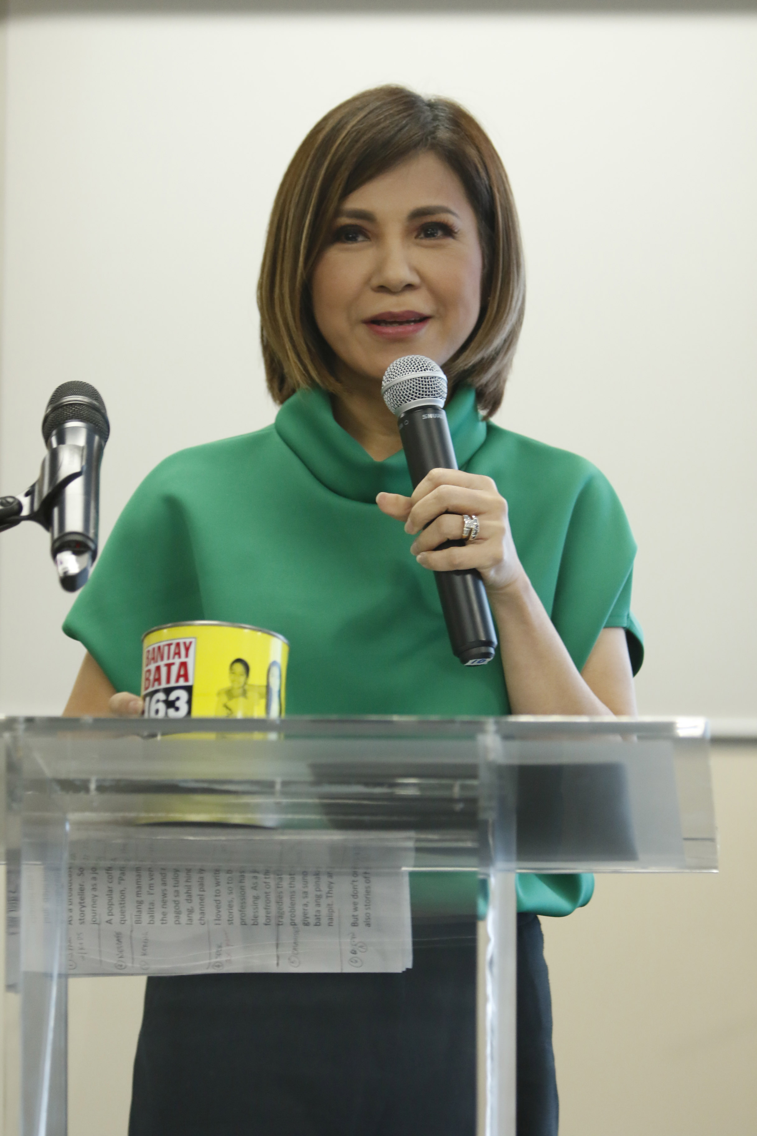 Bantay Bata 163 program director Jing Castañeda