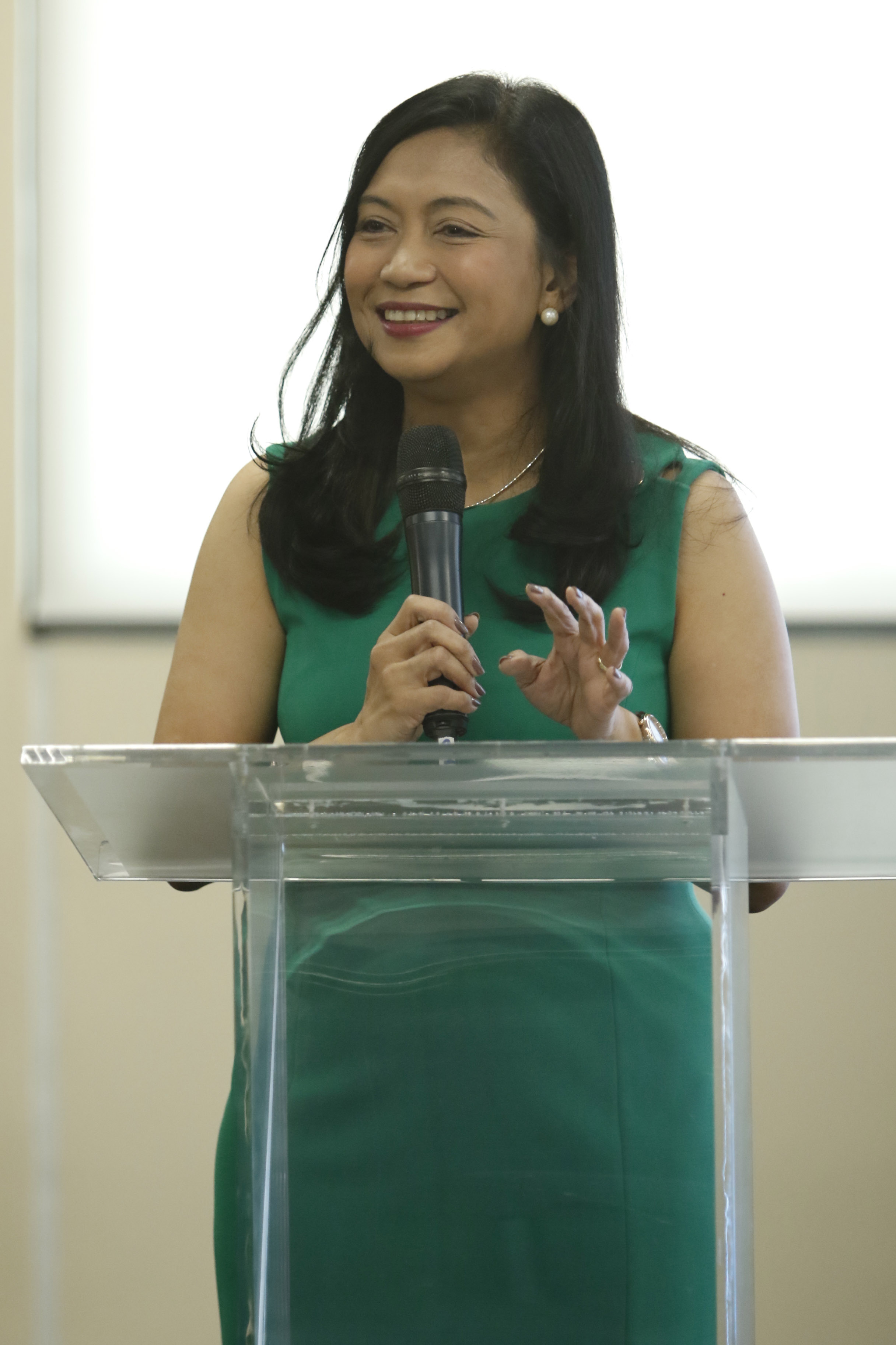 IBM Philippines president and GM Aileen Judan-Jiao