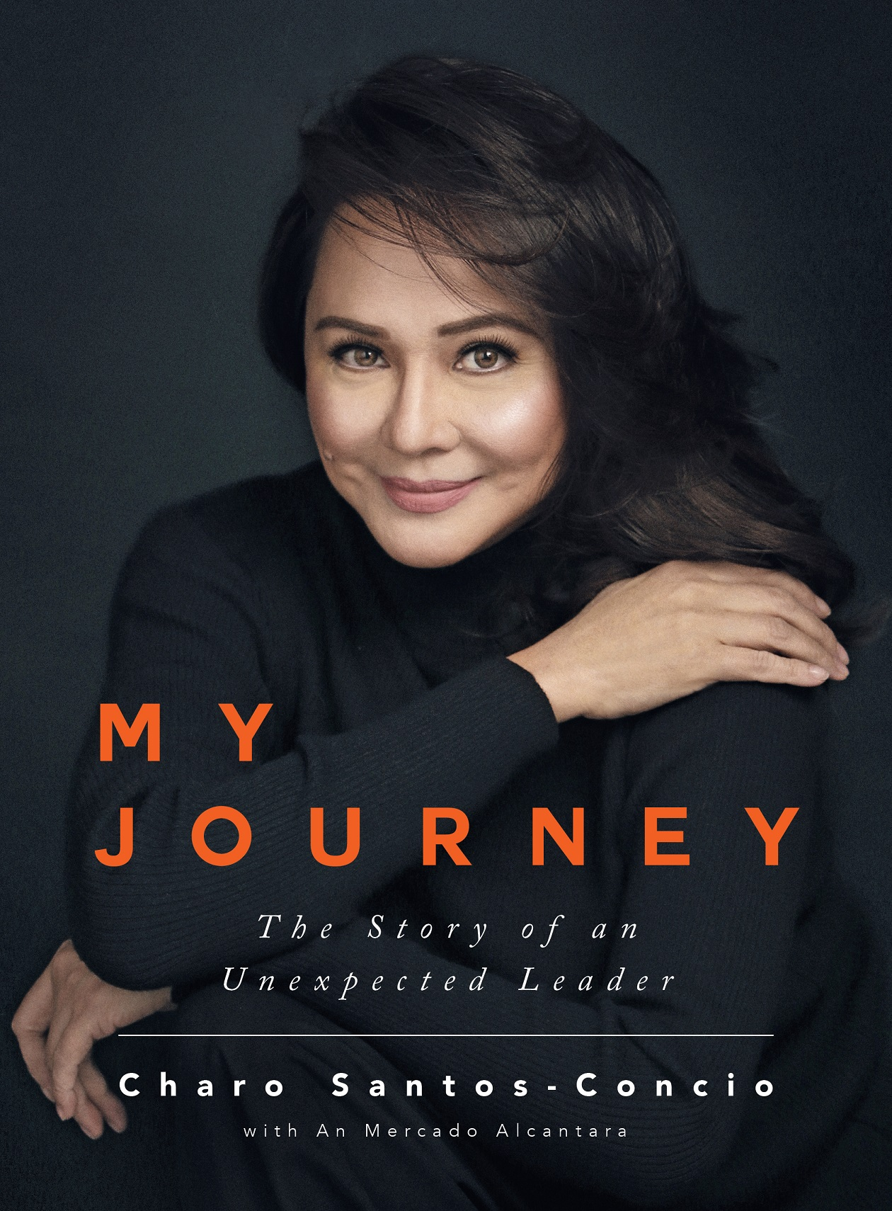 My Journey book cover by Charo Santos Concio