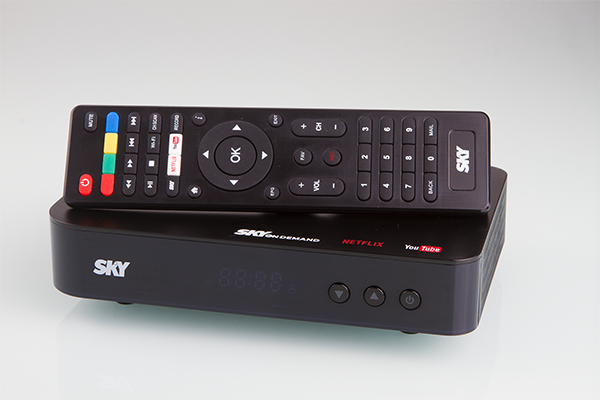 The next-generation SKY On Demand box