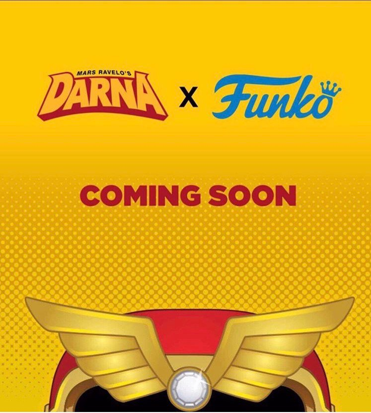 Darna 1st Filipino superhero to have a Funko collectible