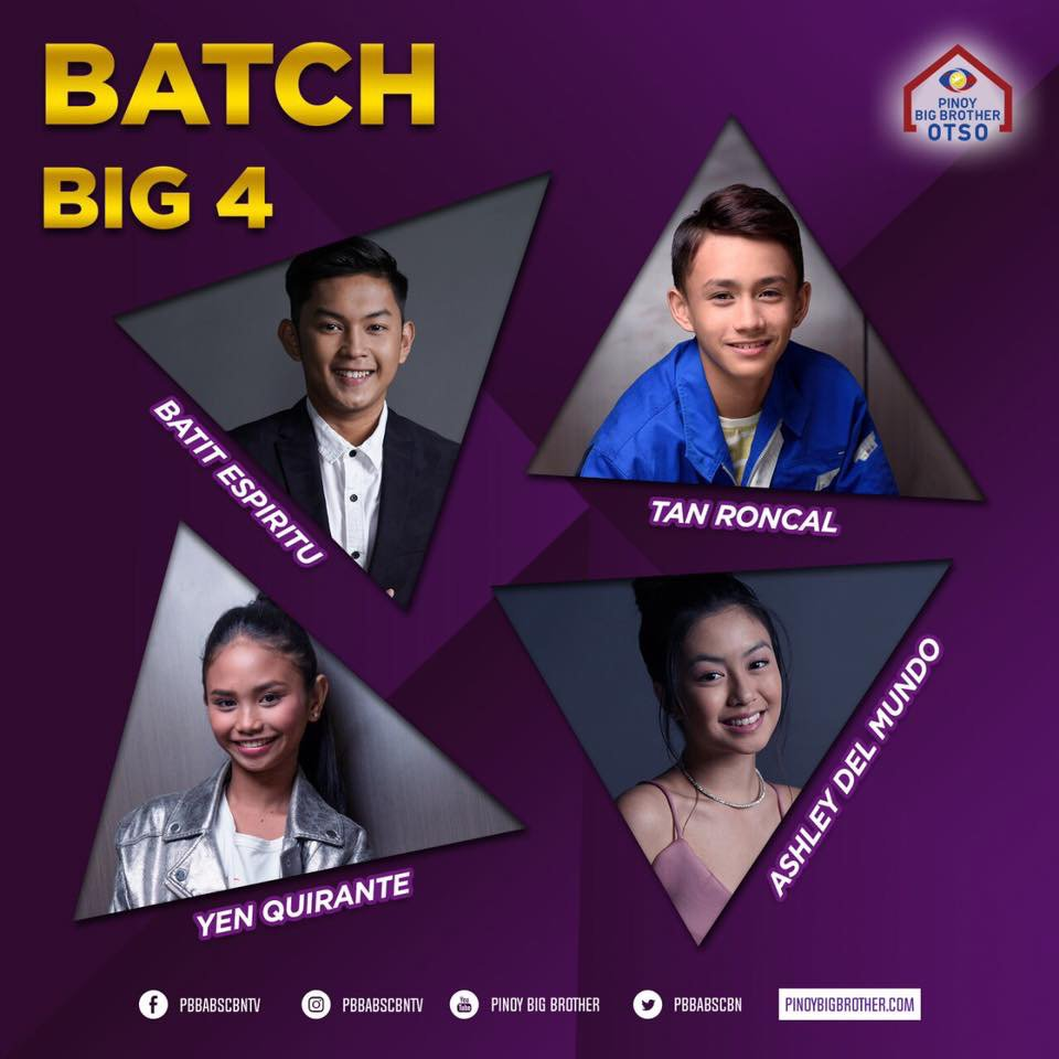 Batit, Tan, Ashley and Yen complete Big 4