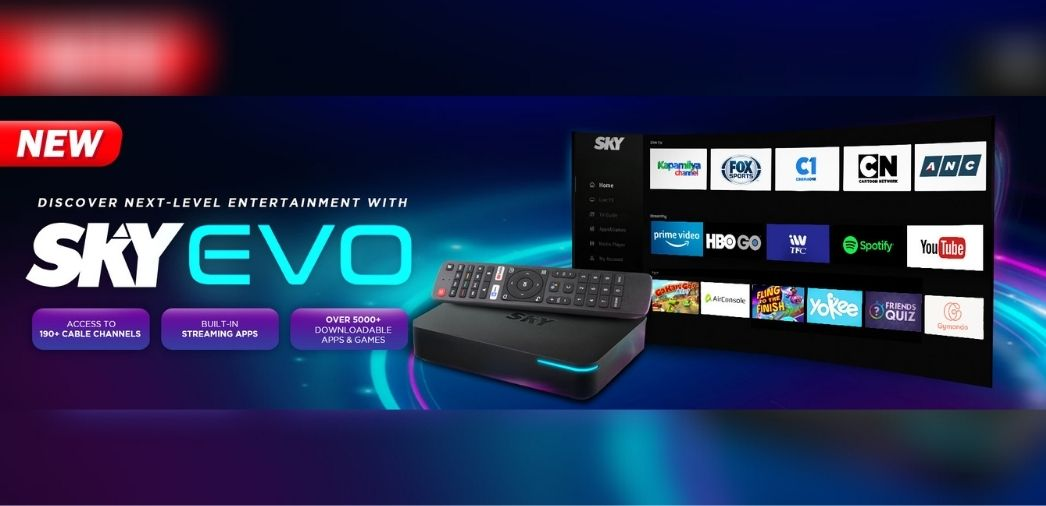 SKY offers larger-than-life entertainment experience with SKY Evo