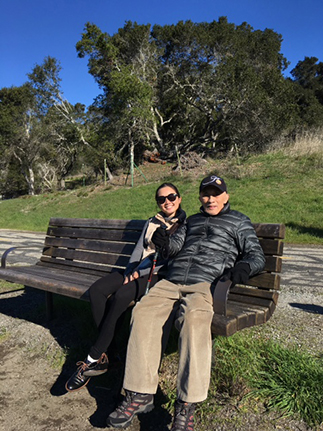 Manna Vargas shares a bonding moment with her grandfather OML