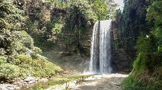 One of the seven waterfalls in Lake Sebu, South Cotabato