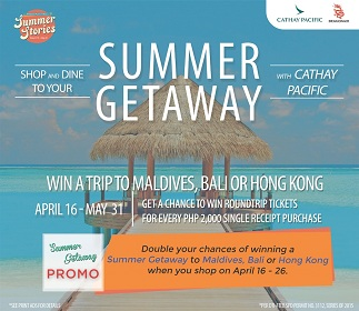 Summer Getaway with Cathay