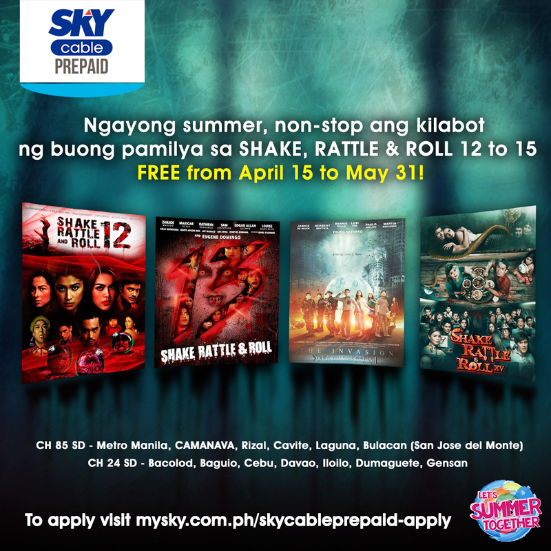 Free SRR screenings on SKYcable Prepaid, SKYdirect