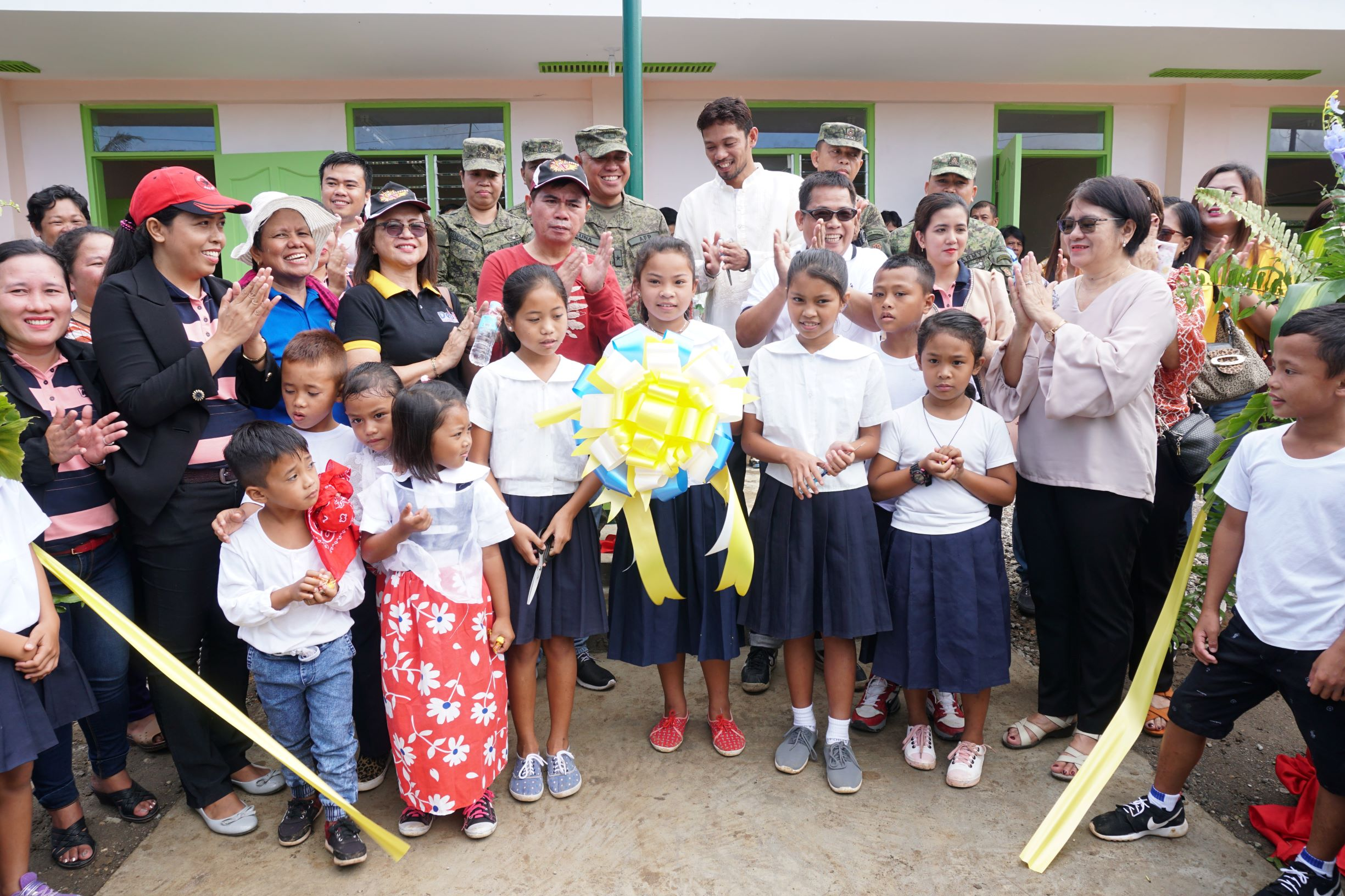 Sagip Kapamilya turns over 3 new classrooms to Samar school