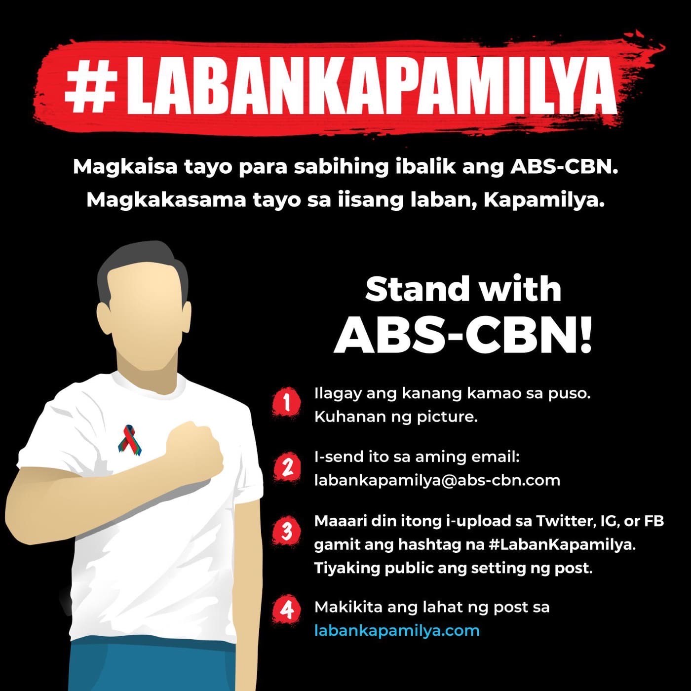 A message of thanks to Kapamilya supporters
