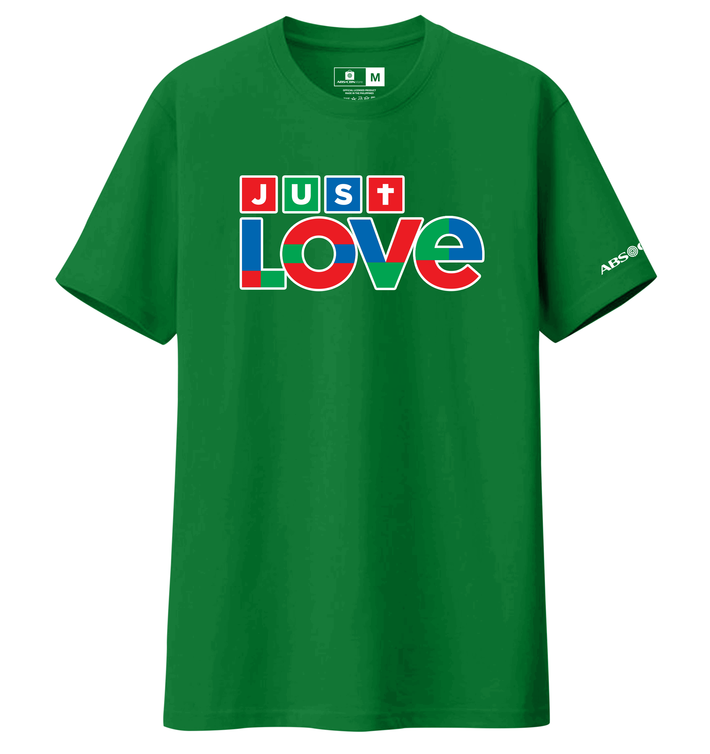 Just Love Christmas Shirt Green