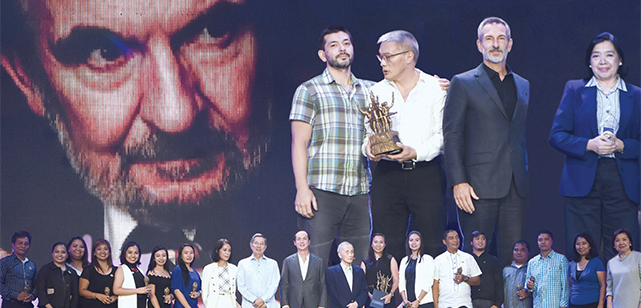 ABS-CBN Lingkod Kapamilya Foundation Inc. (ALKFI) dominated the Lopez Achievement Awards (LAA), picking up three of the six trophies handed out in the ceremonies held at ABS-CBN's Studio 10 on October 18.