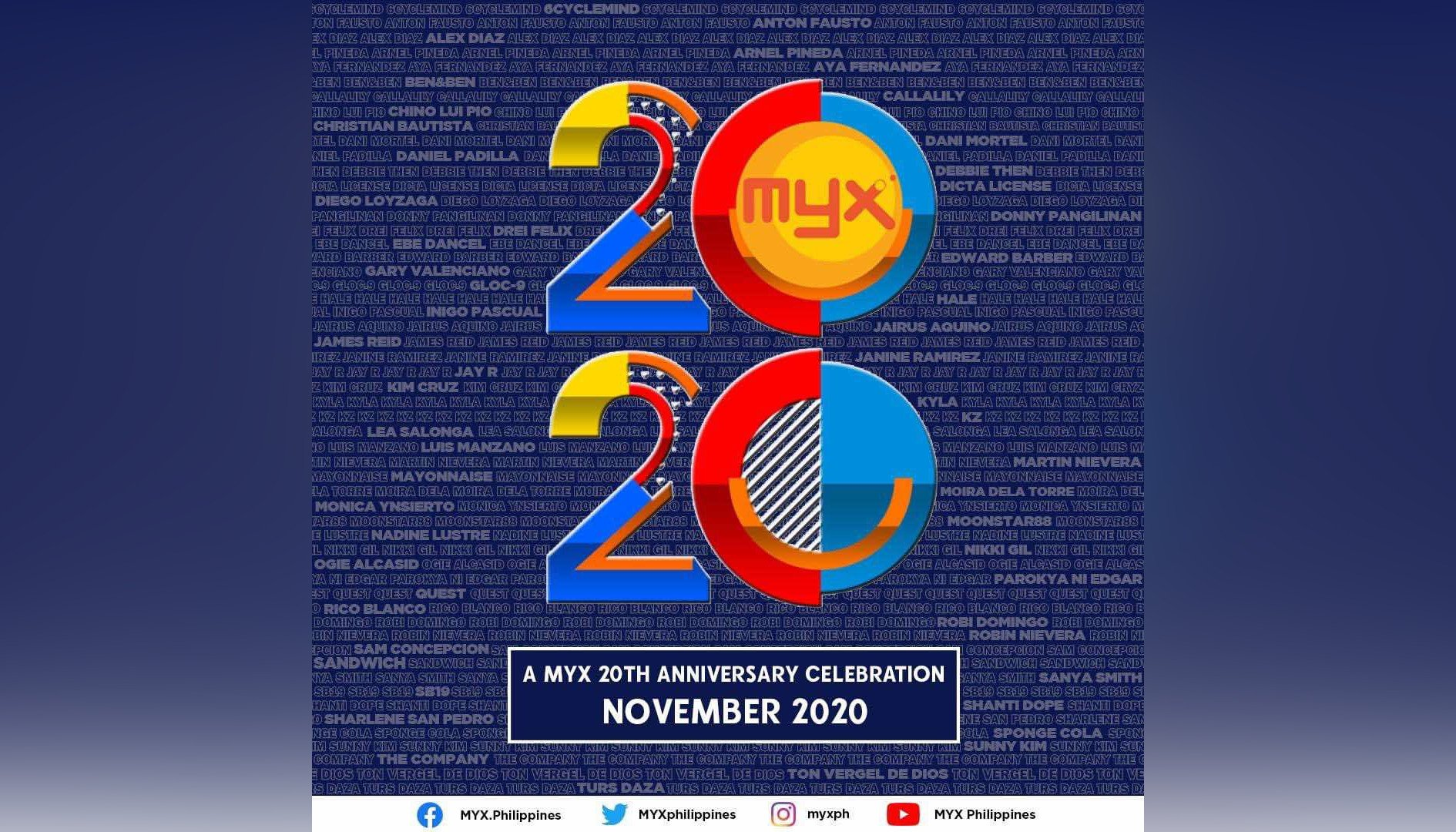 Bop like it's 2000 as MYX celebrates 20th year