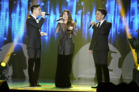 Sam Concepcion, Denise Laurel and Tim Pavino