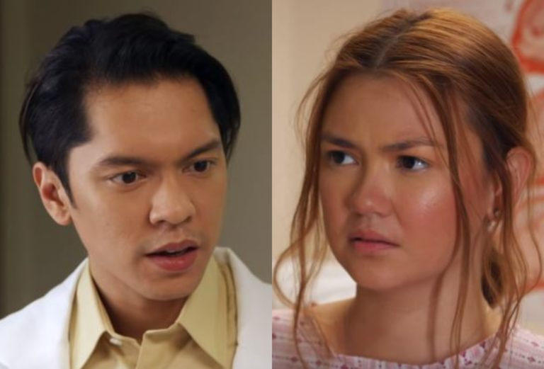 Carlo Aquino and Angelica Panganiban
