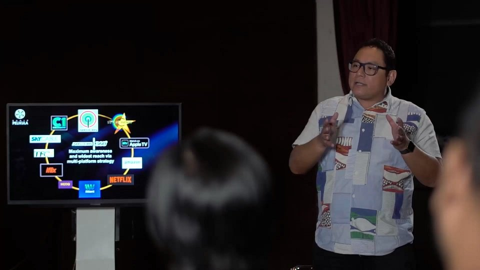 Katigbak talks about saving Filipino films in ANC's 'Think Possible'