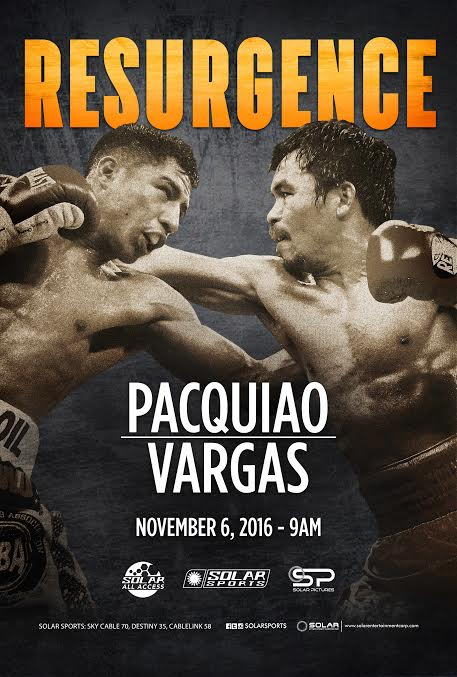 Resurgence: Pacquiao-Vargas fight available on Pay Per View via SKYBiz