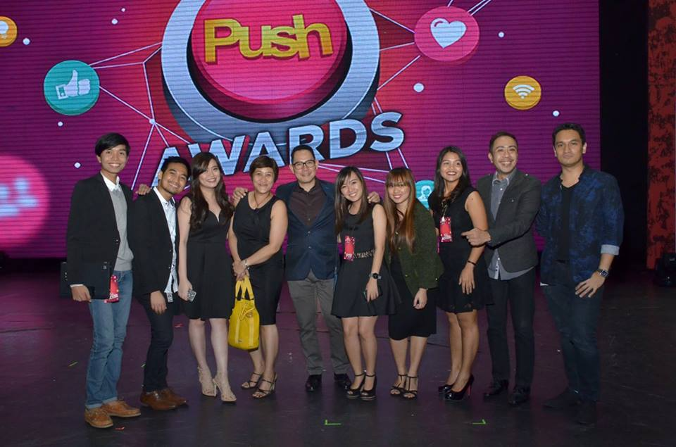 DCP team during the 1st Push Awards