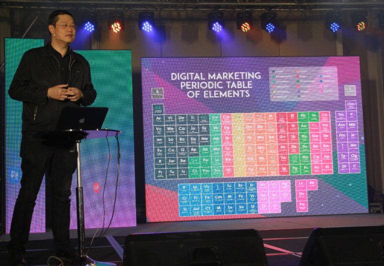 ABS-CBN-chief digital officer Donald Lim leads the launch of an innovative digital marketing tool for advertisers